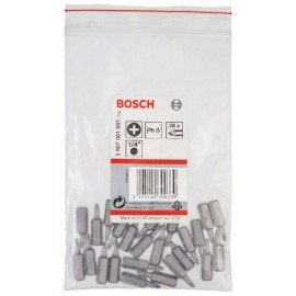 Bosch Csavarozófej, extra kemény PH 0, 25 mm