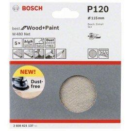 Bosch Csiszolólap 115 mm, 120