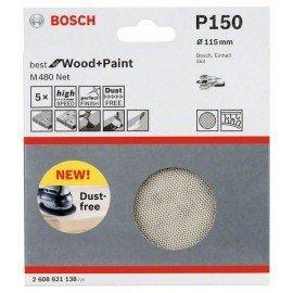 Bosch Csiszolólap 115 mm, 150
