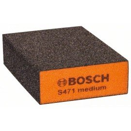 Bosch Csiszolószivacs, Best for Flat and Edge 68 x 97 x 27 mm, közepes