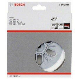 Bosch Csiszolótányér extra lágy, 150 mm