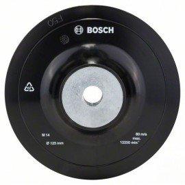 Bosch Csiszolótányér sarokcsiszolóhoz, befogórendszer, 125 mm D= 125 mm