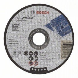 Bosch Darabolótárcsa, egyenes, Best for Metal A 30 V BF, 125 mm, 2,5 mm