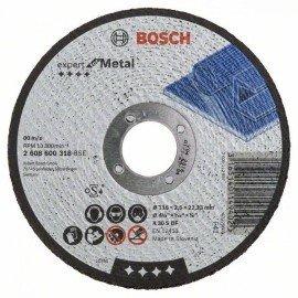 Bosch Darabolótárcsa, egyenes, Expert for Metal A 30 S BF, 115 mm, 2,5 mm