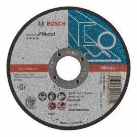 Bosch Darabolótárcsa, egyenes, Expert for Metal AS 30 S BF, 115 mm, 3,0 mm