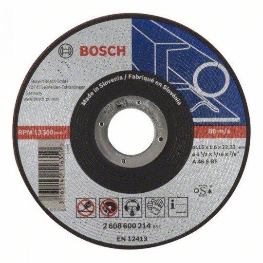 Bosch Darabolótárcsa, egyenes, Expert for Metal AS 46 S BF, 115 mm, 1,6 mm