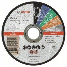 Bosch Darabolótárcsa, egyenes, Rapido Multi Construction ACS 46 V BF, 125 mm, 1,6 mm