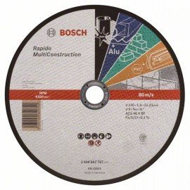 Bosch Darabolótárcsa, egyenes, Rapido Multi Construction ACS 46 V BF, 230 mm, 1,9 mm