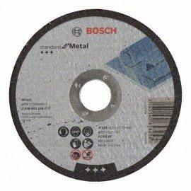 Bosch Darabolótárcsa, egyenes, Standard for Metal A 30 S BF, 125 mm, 22,23 mm, 2,5 mm