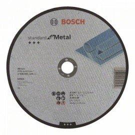 Bosch Darabolótárcsa, egyenes, Standard for Metal A 30 S BF, 230 mm, 22,23 mm, 3,0 mm