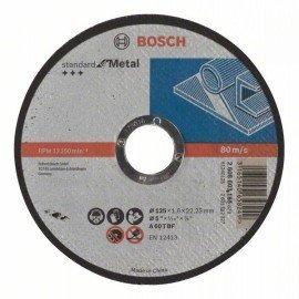Bosch Darabolótárcsa, egyenes, Standard for Metal A 60 T BF, 125 mm, 22,23 mm, 1,6 mm