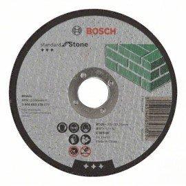 Bosch Darabolótárcsa, egyenes, Standard for Stone C 30 S BF, 125 mm, 22,23 mm, 3,0 mm