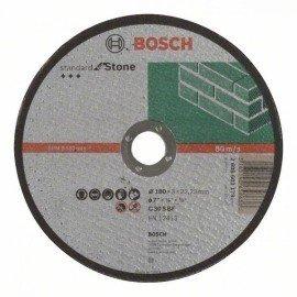 Bosch Darabolótárcsa, egyenes, Standard for Stone C 30 S BF, 180 mm, 22,23 mm, 3,0 mm