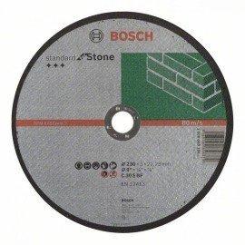 Bosch Darabolótárcsa, egyenes, Standard for Stone C 30 S BF, 230 mm, 22,23 mm, 3,0 mm