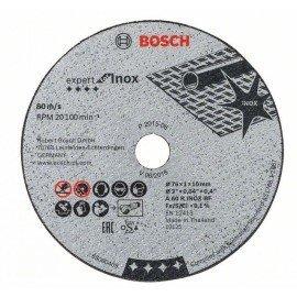 Bosch Darabolótárcsa, Expert for Inox A 60 R INOX BF; 76 mm; 1 mm; 10 mm