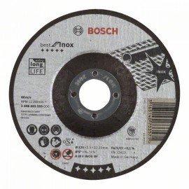 Bosch Darabolótárcsa, hajlított, Best for Inox A 30 V INOX BF, 125 mm, 2,5 mm