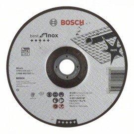 Bosch Darabolótárcsa, hajlított, Best for Inox A 30 V INOX BF, 180 mm, 2,5 mm