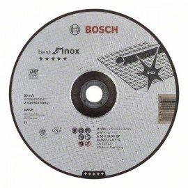Bosch Darabolótárcsa, hajlított, Best for Inox A 30 V INOX BF, 230 mm, 2,5 mm