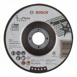 Bosch Darabolótárcsa, hajlított, Best for Inox A 46 V INOX BF, 125 mm, 1,5 mm