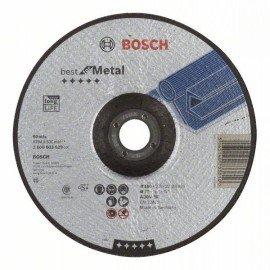 Bosch Darabolótárcsa, hajlított, Best for Metal A 30 V BF, 180 mm, 2,5 mm