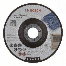 Bosch Darabolótárcsa, hajlított, Best for Metal A 46 V BF, 125 mm, 1,5 mm