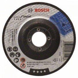 Bosch Darabolótárcsa, hajlított, Expert for Metal A 30 S BF, 115 mm, 2,5 mm