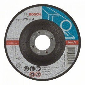 Bosch Darabolótárcsa, hajlított, Expert for Metal AS 30 S BF, 115 mm, 3,0 mm