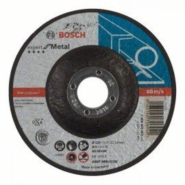 Bosch Darabolótárcsa, hajlított, Expert for Metal AS 30 S BF, 125 mm, 3,0 mm