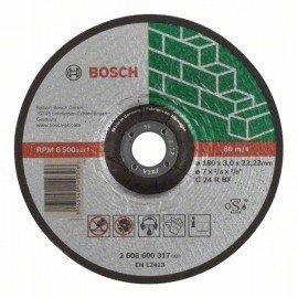 Bosch Darabolótárcsa, hajlított, Expert for Stone C 24 R BF, 180 mm, 3,0 mm