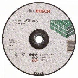 Bosch Darabolótárcsa, hajlított, Expert for Stone C 24 R BF, 230 mm, 3,0 mm