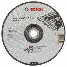 Bosch Darabolótárcsa, hajlított, Standard for Inox WA 36 R BF, 230 mm, 22,23 mm, 1,9 mm
