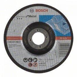 Bosch Darabolótárcsa, hajlított, Standard for Metal A 30 S BF, 125 mm, 22,23 mm, 2,5 mm