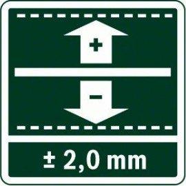 Bosch Digitális lézeres távolságmérő PLR 25