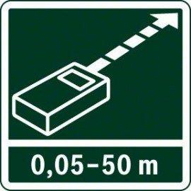 Bosch Digitális lézeres távolságmérő PLR 50 C