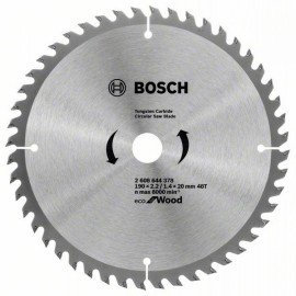 Bosch Eco for wood körfűrészlap