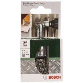 Bosch Ecsetkefe fúrógépekhez – hullámosított drót, 25 mm Átmérő = 25 mm