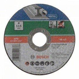 Bosch Egyenes darabolótárcsa, fém D= 115 mm; Vastagság= 2,5 mm
