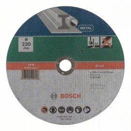 Bosch Egyenes darabolótárcsa, fém D= 230 mm; Vastagság= 3,0 mm