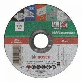 Bosch Egyenes Multi Construction darabolótárcsa D= 115 mm