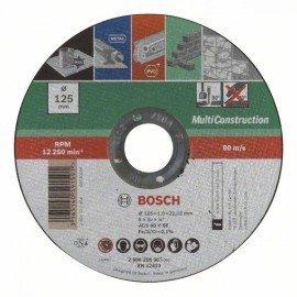 Bosch Egyenes Multi Construction darabolótárcsa D= 125 mm