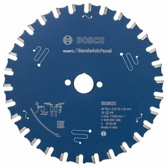 Bosch EX SH H 165x20-30