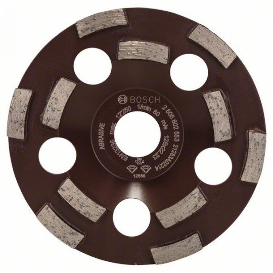 Bosch Expert for Abrasive gyémánt fazékkorong 125 x 22,23 x 4,5 mm