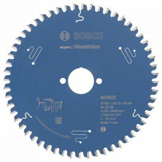 Bosch Expert for Aluminium körfűrészlap 180 x 30 x 2,6 mm, 56