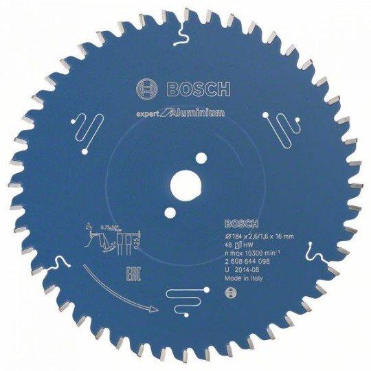 Bosch Expert for Aluminium körfűrészlap 184 x 16 x 2,6 mm, 48