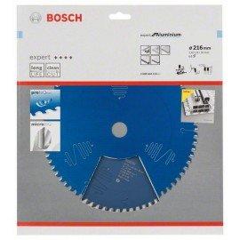 Bosch Expert for Aluminium körfűrészlap 216 x 30 x 2,6 mm, 64