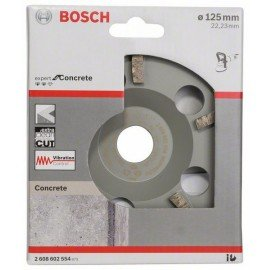 Bosch Expert for Concrete Extra-Clean gyémánt fazékkorong 125 x 22,23 x 4,5 mm