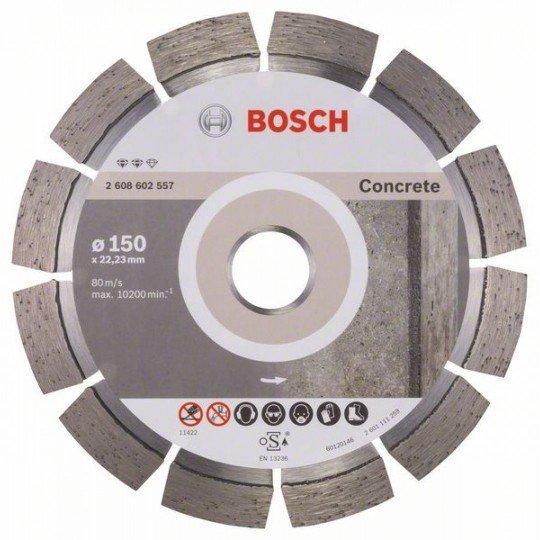 Bosch Expert for Concrete gyémánt darabolótárcsa 150 x 22,23 x 2,4 x 12 mm