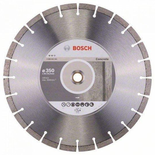 Bosch Expert for Concrete gyémánt darabolótárcsa 350 x 20,00+25,40 x 3,2 x 12 mm