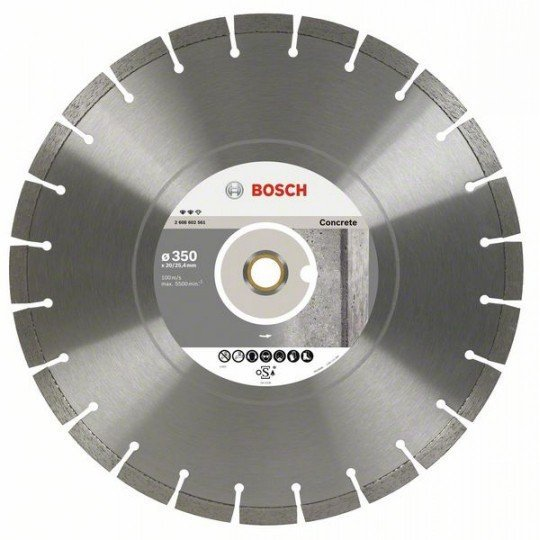 Bosch Expert for Concrete gyémánt darabolótárcsa 450 x 25,40 x 3,6 x 12 mm
