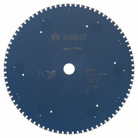 Bosch Expert for Steel körfűrészlap 305 x 25,4 x 2,6 mm, 80